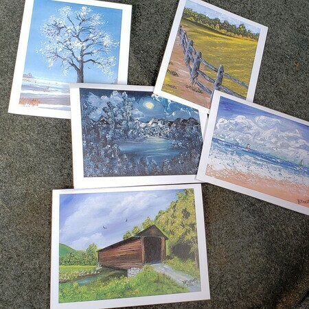 Greeting Cards (group of 5)