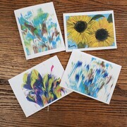 Abstract Greeting Cards Set